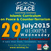 29july2015 The Launch of Islamic Curriculum on Peace and Counter Terrorism Islamabad Marriott Hotel by Muhammad Tayyab Raza