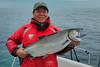 Salmon fishing at Langara Island Lodge, Haida Gwaii
