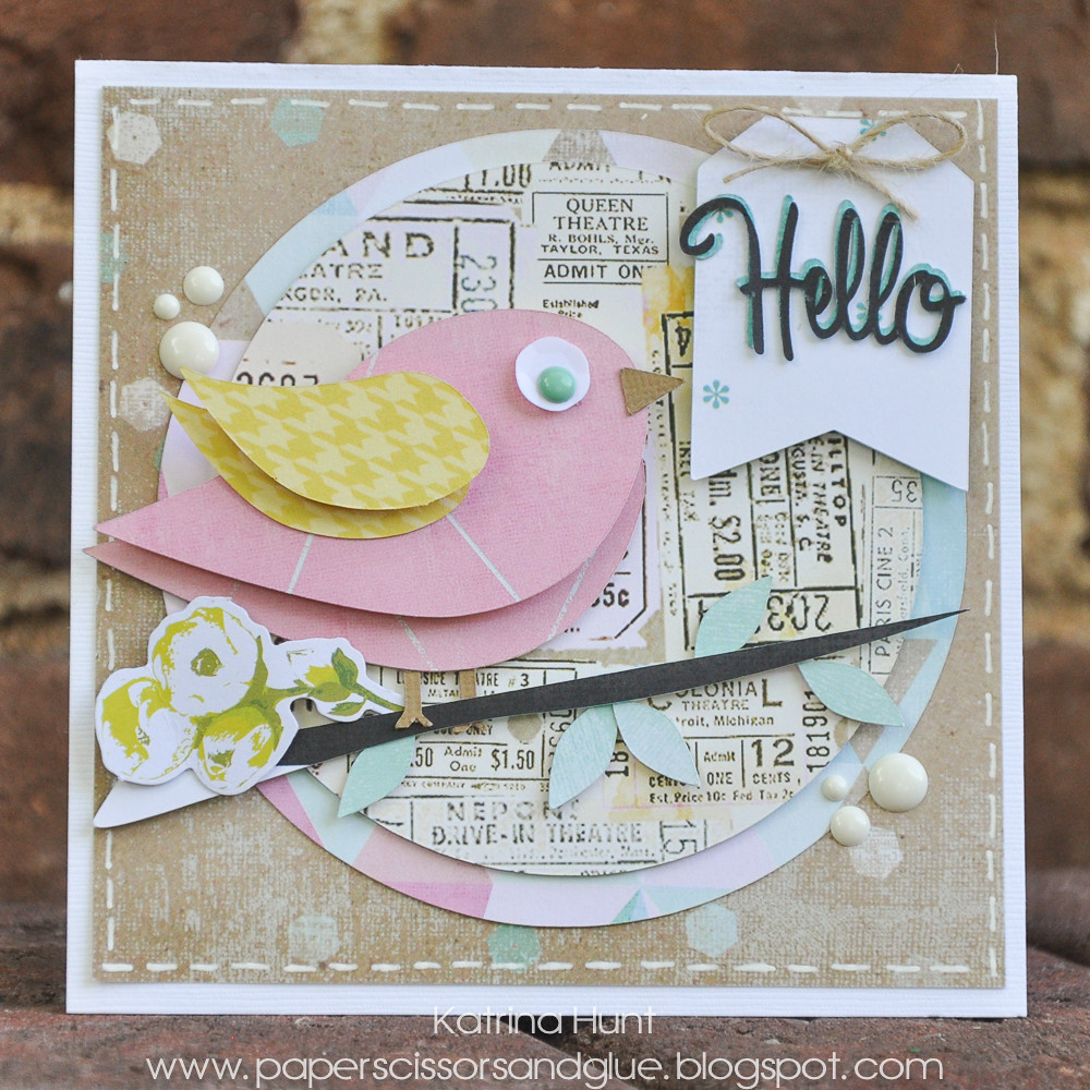 Hello-Heidi Swapp and Card Kit Monday by Daniela Dobson