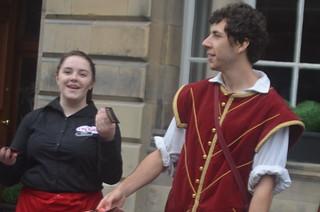 Edinburgh Royal Mile Wednesday Day 2