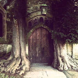 Hobbit Door, Stow on the wold church. | by judy dean
