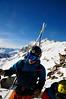Karel Kříž nejen vodil, ale i učil lyžování