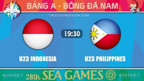 U23 Indonesia vs U23 Philippines