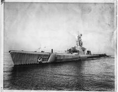 ship of the line(0.0), torpedo boat(0.0), submarine chaser(0.0), motor torpedo boat(0.0), pre-dreadnought battleship(0.0), destroyer(0.0), ocean liner(0.0), gunboat(0.0), armored cruiser(0.0), heavy cruiser(0.0), battlecruiser(0.0), light cruiser(0.0), steamboat(0.0), naval ship(1.0), vehicle(1.0), ship(1.0), monochrome photography(1.0), watercraft(1.0), ironclad warship(1.0), black-and-white(1.0), battleship(1.0),