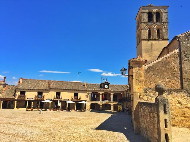 Plaza Mayor de Pedraza (Segovia)