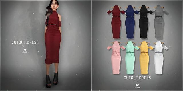 Cutout.Dress @ Kustom9