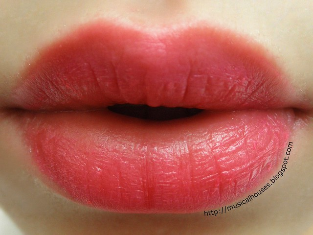 The Face Shop Ink Lipquid PK03 Shah Pink Lip Swatch