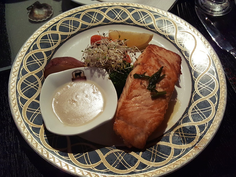 Grilled Salmon Day and Night Steakhouse