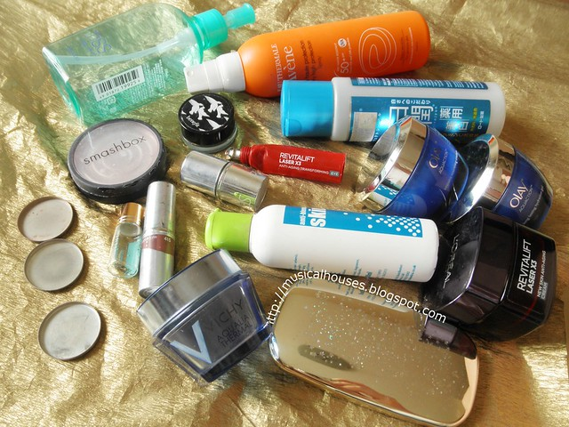 Empties Makeup Skincare 1