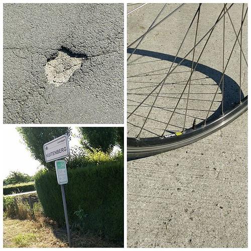 Put aan knooppunt 34. Doeme toch! #knooppunt #bike #bikelife