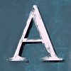 letter A by Leo Reynolds