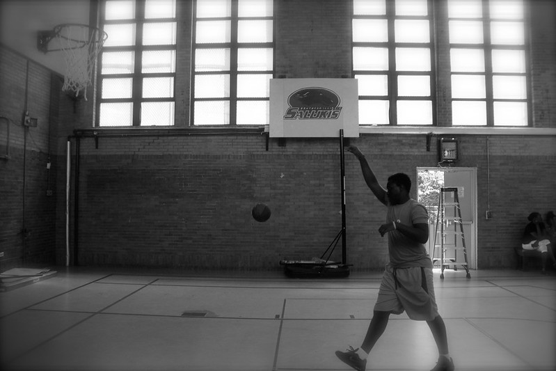 Gym Time, Youth-Led Tech, Summer 2015, North Lawndale
