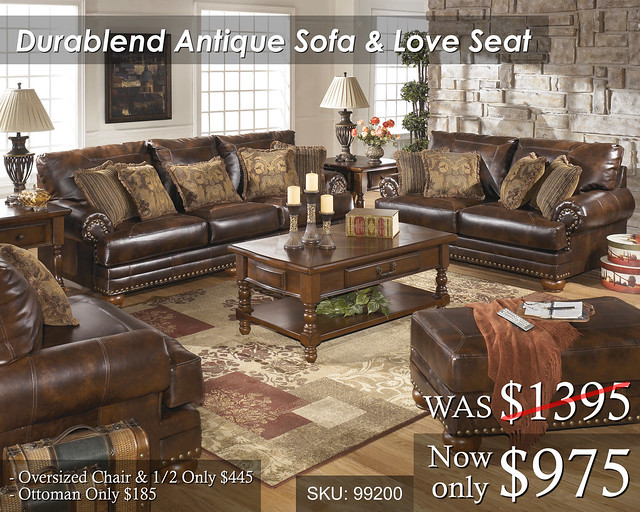 Durablend Antique Living Set