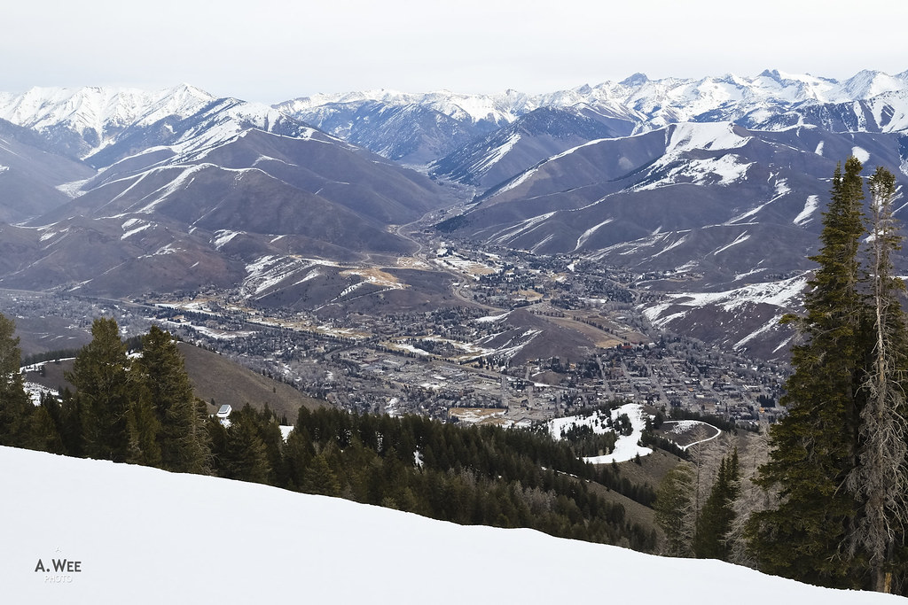 View over Ketchum