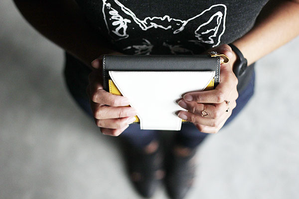 simplism iphone clutch wallet