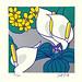 Japanese Flower and Bird Art posted a photo:Japanese art print by Katsu Sata (1914-1993)
