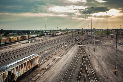 railroad tracks unionpacific northplatte classificationyard