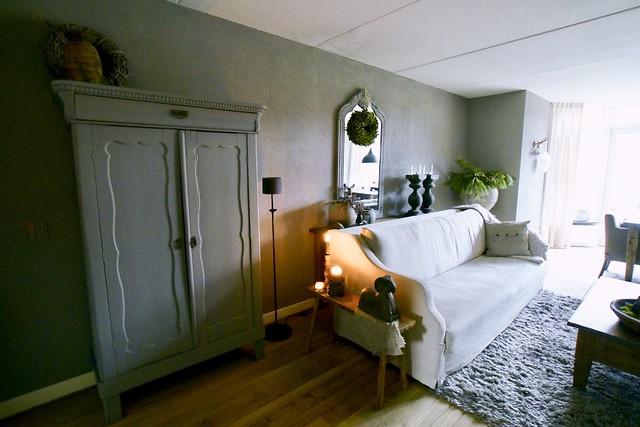 Landelijke woonkamer