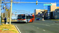 WMATA Metrobus 2006 New Flyer D40LFR #6210