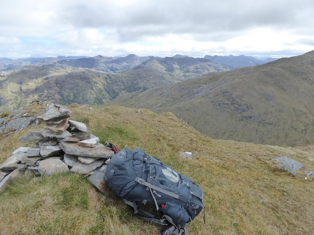 View north from Beinn Mhic Cedidh
