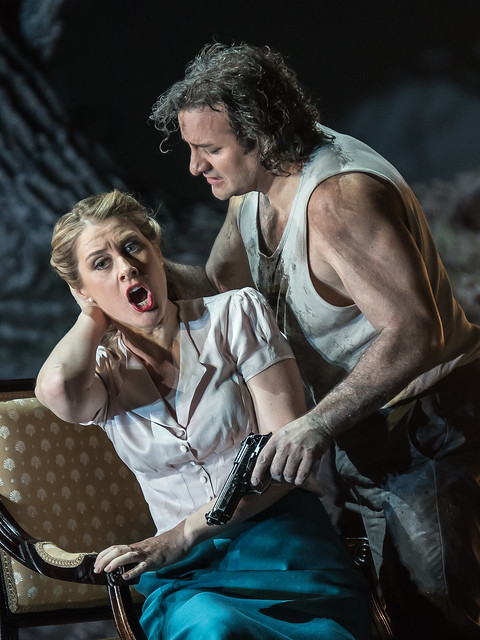 John Osborn and Malin Bysrom in Guillaume Tell © 2015 ROH. Photograph by Clive Barda
