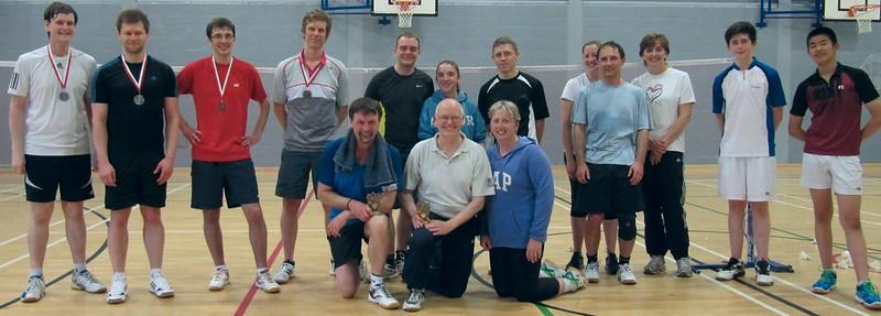 Pittville Badminton Club Handicap Tournament - June 2015
