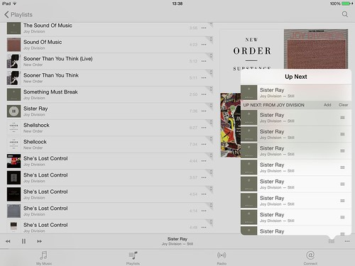 iOS 8.4 music player getting playlists broken by building a sequence of the single file in the list
