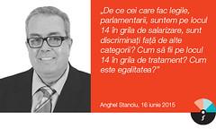 """Anghel Stanciu: """"[noi] parlamentarii, suntem pe locul 14 în grila de salarizare"""""""