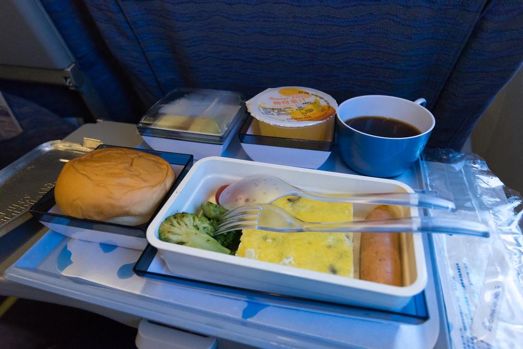 2.实在没办法吃完的飞机餐