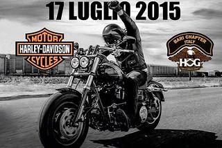 Noicattaro. Raduno Harley Davidson front