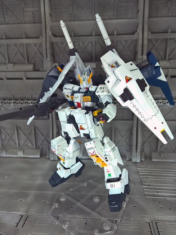 [Era of Z] RX-121-3L Gudam TR-1 [Lightning Hazel] กระต่ายขาวสายฟ้า โดย bangbang04