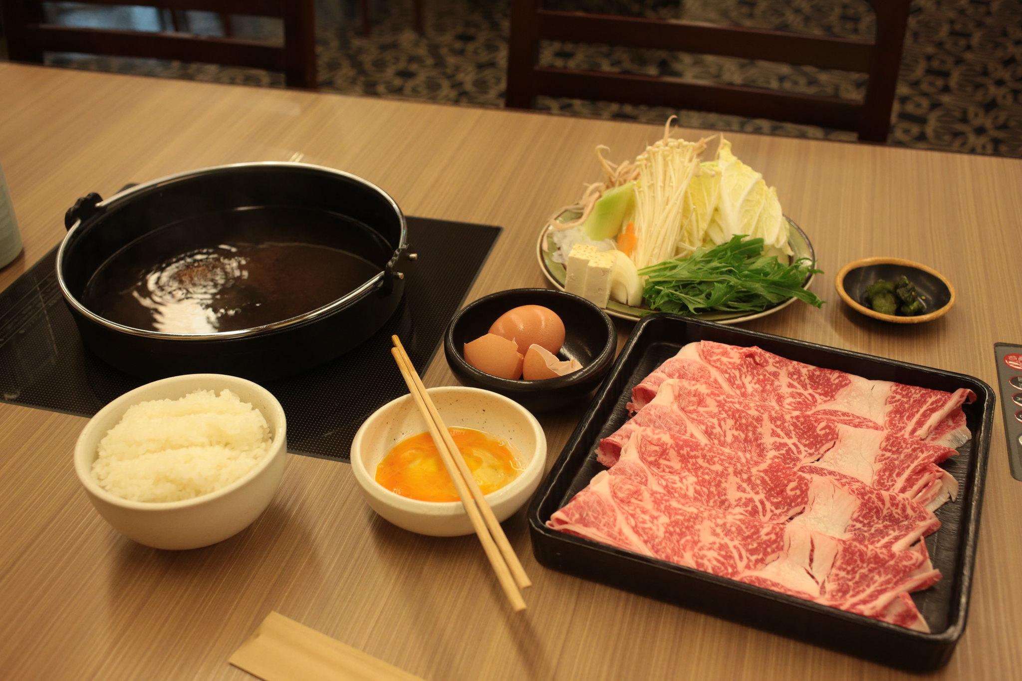 Sukiyaki Namba Parks