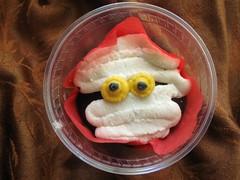 mummy cupcake