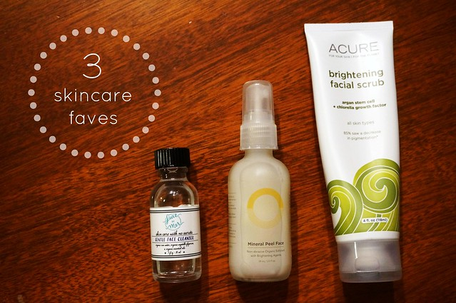 Natural Skincare Favorites