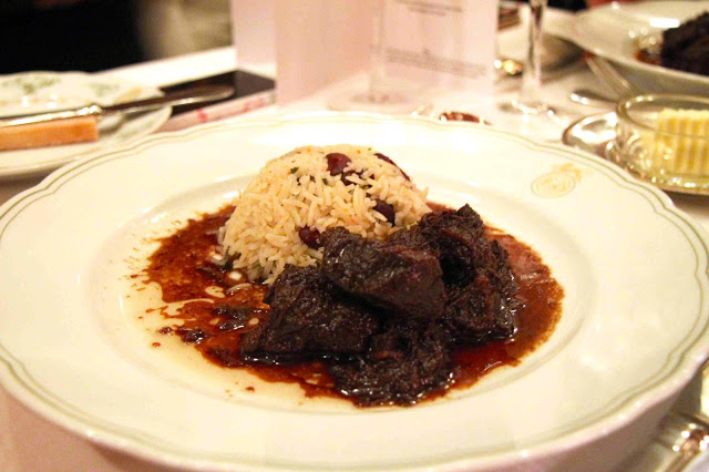 Main Course Served: Beef Pepperpot