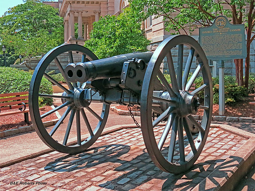 Double-barrelled Cannon, Athens, GA