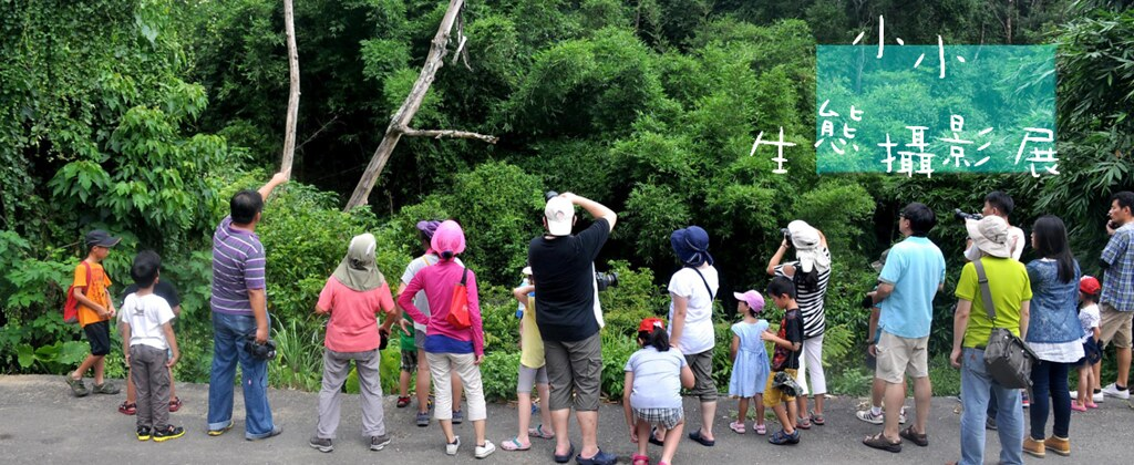 小小生態攝影展:走,跟我們去探索自然!