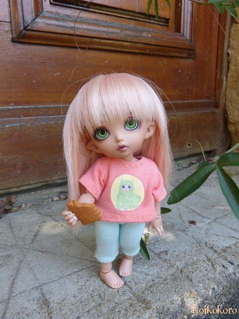 Couture et tricotages : monstre, flamant rose et alpaga 20129245759_38ac8c8867_z