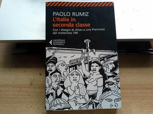 """""""L'Italia in seconda classe"""" di Paolo Rumiz"""