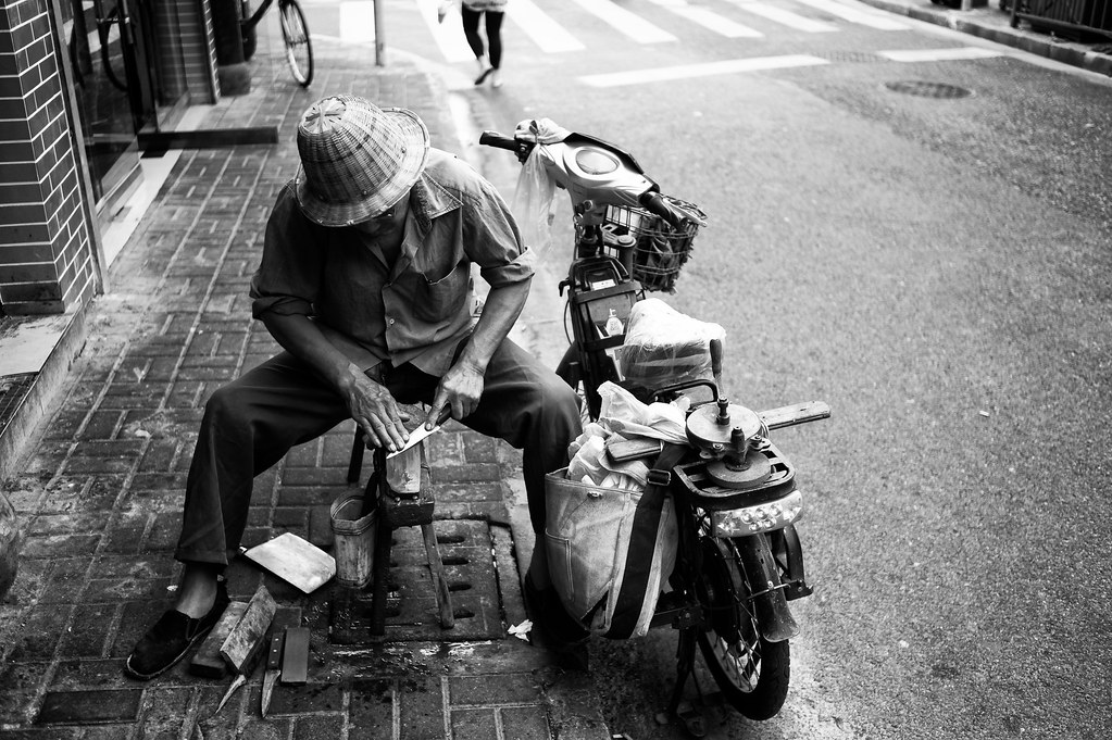 Knife Sharpener, Shanghai