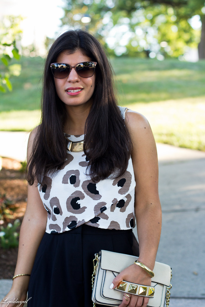 black culottes, leopard crop top, platform sandals-3.jpg