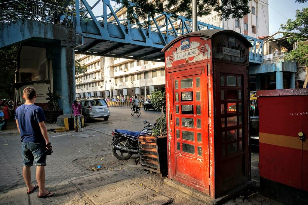 Мумбаи, телефонная будка