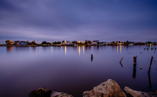 fuji 14mm jeanlafitte southlouisiana evening louisiana xt2 fujifilm longexposure mirrorless thebluehour bluehour fujinon14mm landscape fujixf14mmf28r blue bayou houses light fujifilmxt2 fujixt2 lafitte view vantage bayoubarataria winter clouds cloudy mood december shoreline jeanlafittelouisiana reflection homes