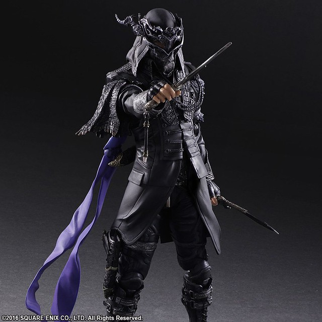 為未來的國王而戰 PLAY ARTS改《王者之劍 Final Fantasy XV》尼克斯‧烏爾里克 ニックス・ウリック