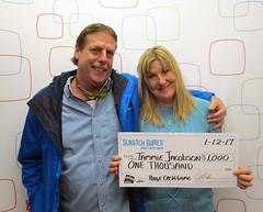 Tammie Jacobson - $1,000 Huge Cash Game