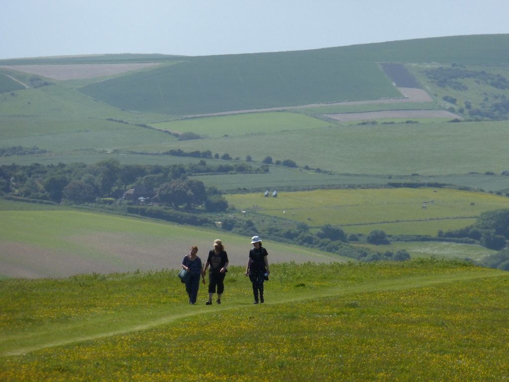 Between Southease and Glynde Lewes Circular walk