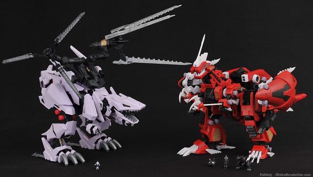 HMM Zoids - Berserk Fury and Geno Breaker