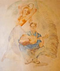 Murals in Villa Torlonia