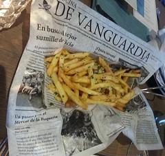 Trüflü ve Parmesanlı patates kızartması gezi İstanbul garlic restaurant & bar