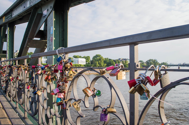Frankfurt Love Lock Bridge